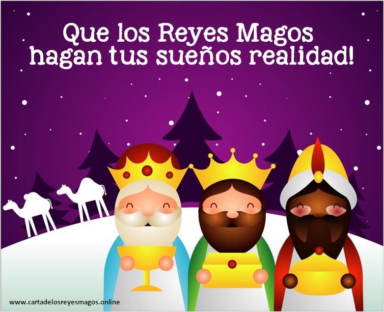 Feliz dia de los reyes tres reyes magos