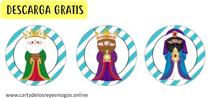 Toppers Reyes Magos gratis